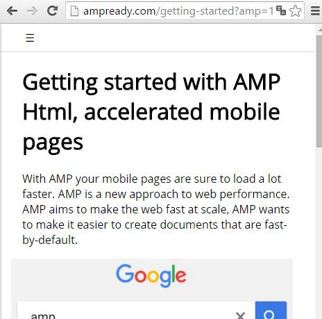 responsive menu in amp html